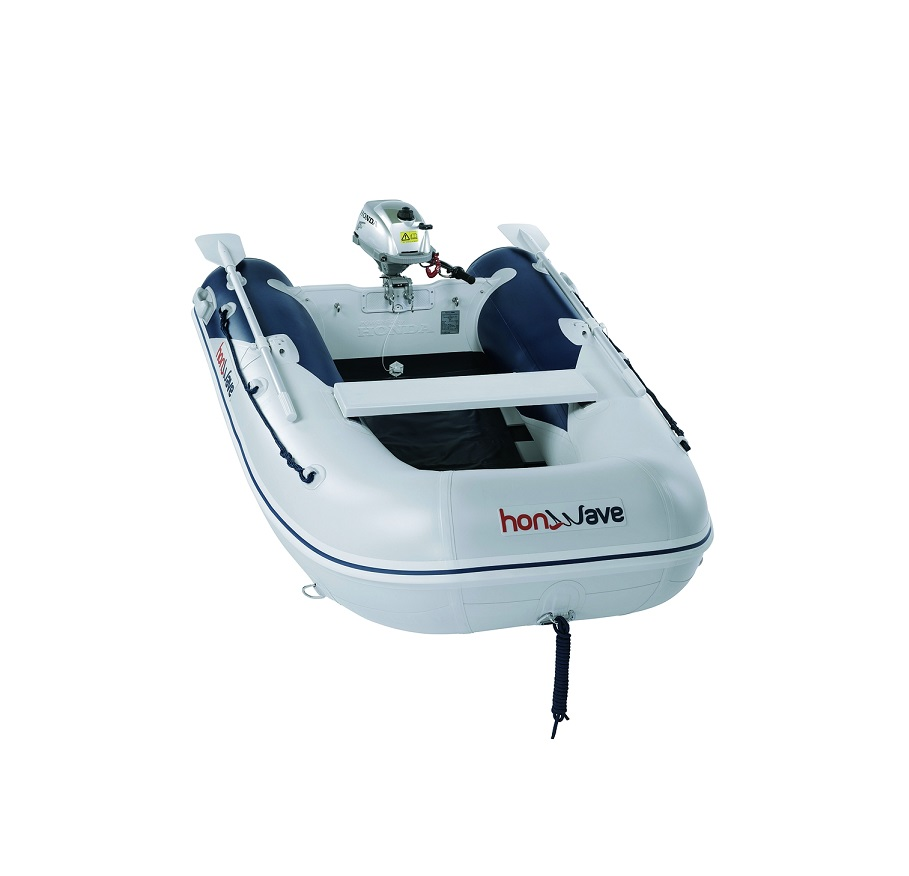 Лодка с оребрено дъно Honda T25SE