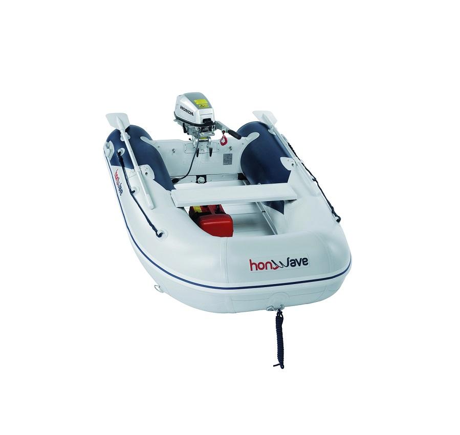 Лодка с алуминиево дъно T25AE
