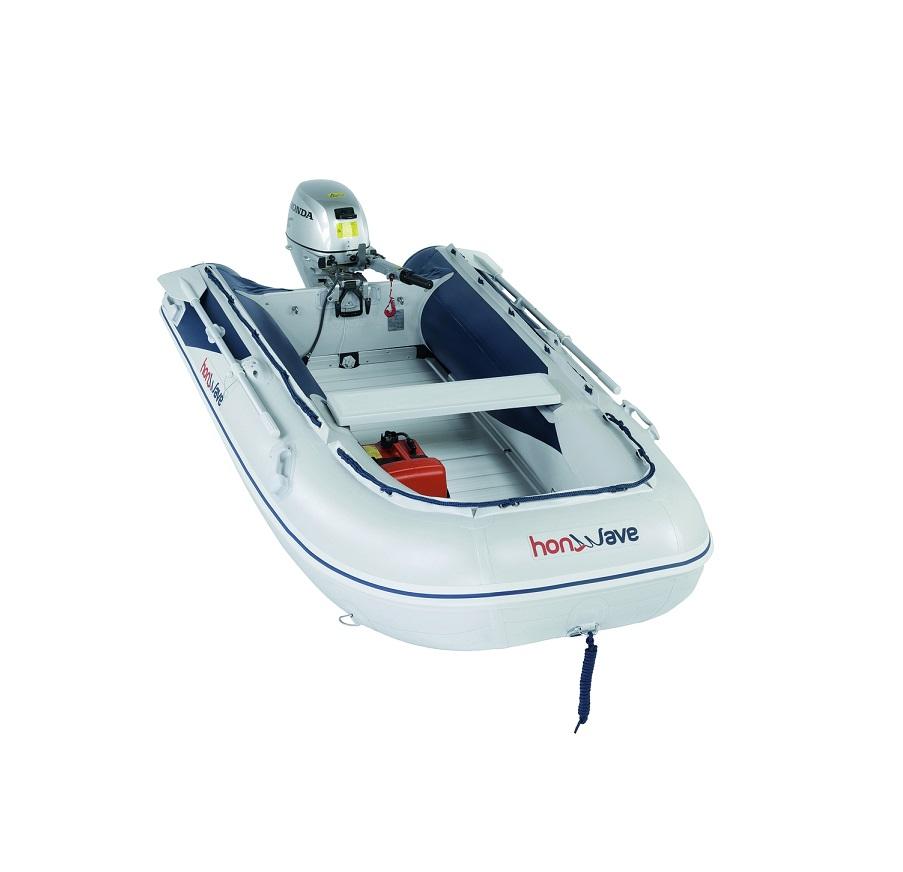 Лодка с алуминиево дъно Honda T30AE