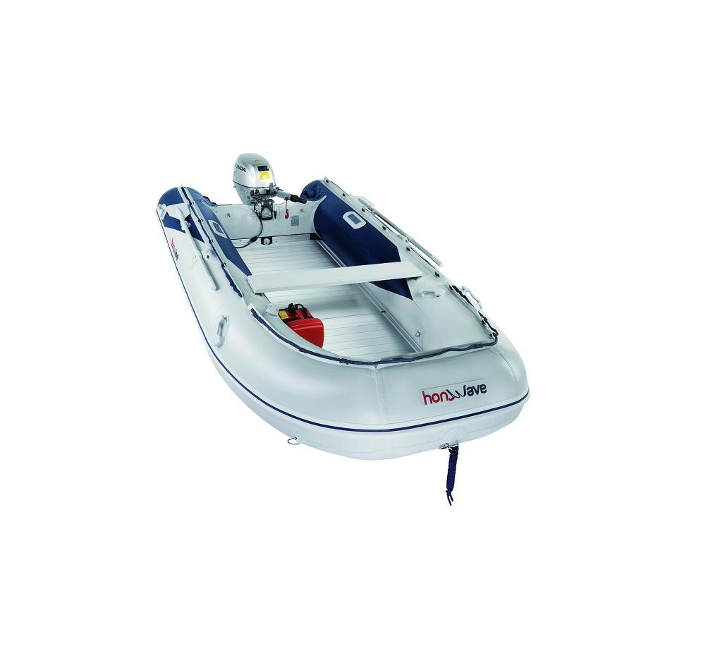 Лодка с алуминиево дъно T40AE