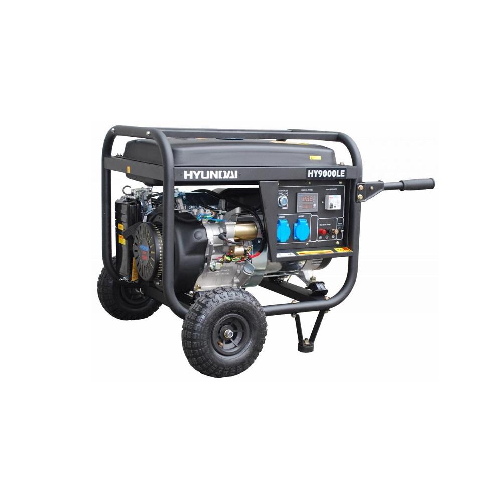 Бензинов генератор HYUNDAI HY9000 LEК/R - 6,6 kW комплект с ATS