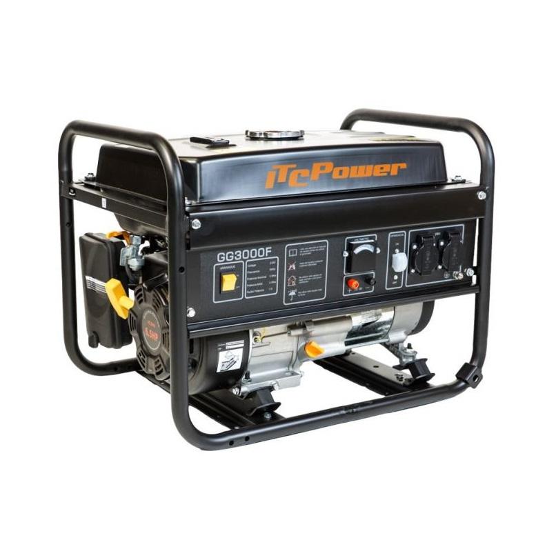 Бензинов генератор GG 3000 F - 2,8 kW Hyundai ITC Power