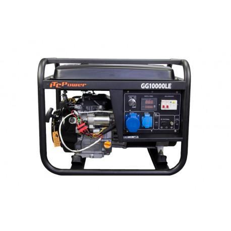 Бензинов генератор, монофазен GG 10000 LE - 8,2 kW, ел. стартер Hyundai ITC Power
