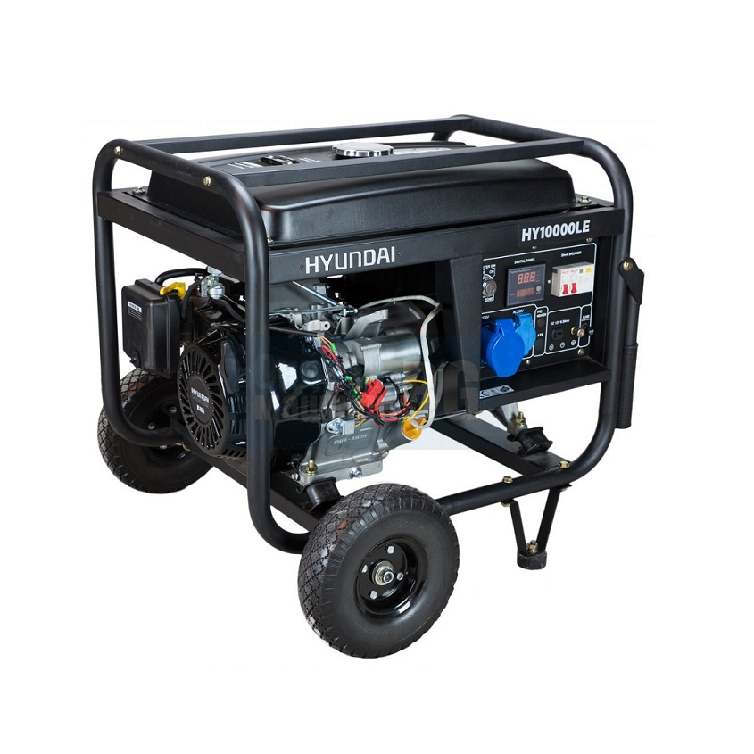 Бензинов генератор HYUNDAI HY10000 LEK - 7,8 kW ел. стартер