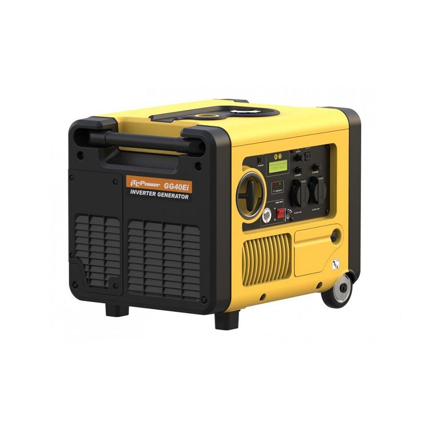 Инверторен, обезшумен генератор GG 40Еi - 4,0 кW - ел. стартер Hyundai ITC Power