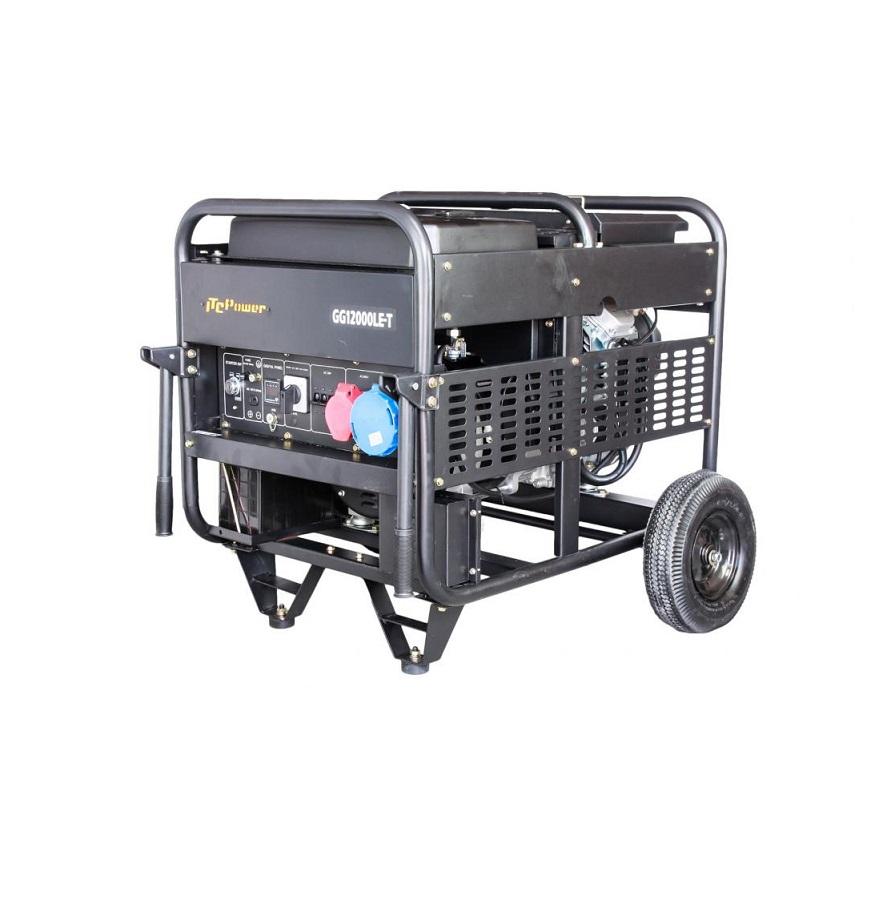 Бензинов генератор трифазен/монофазен GG 12000LE-Т - 11,3 kVА, ел. стартер Hyundai ITC Power