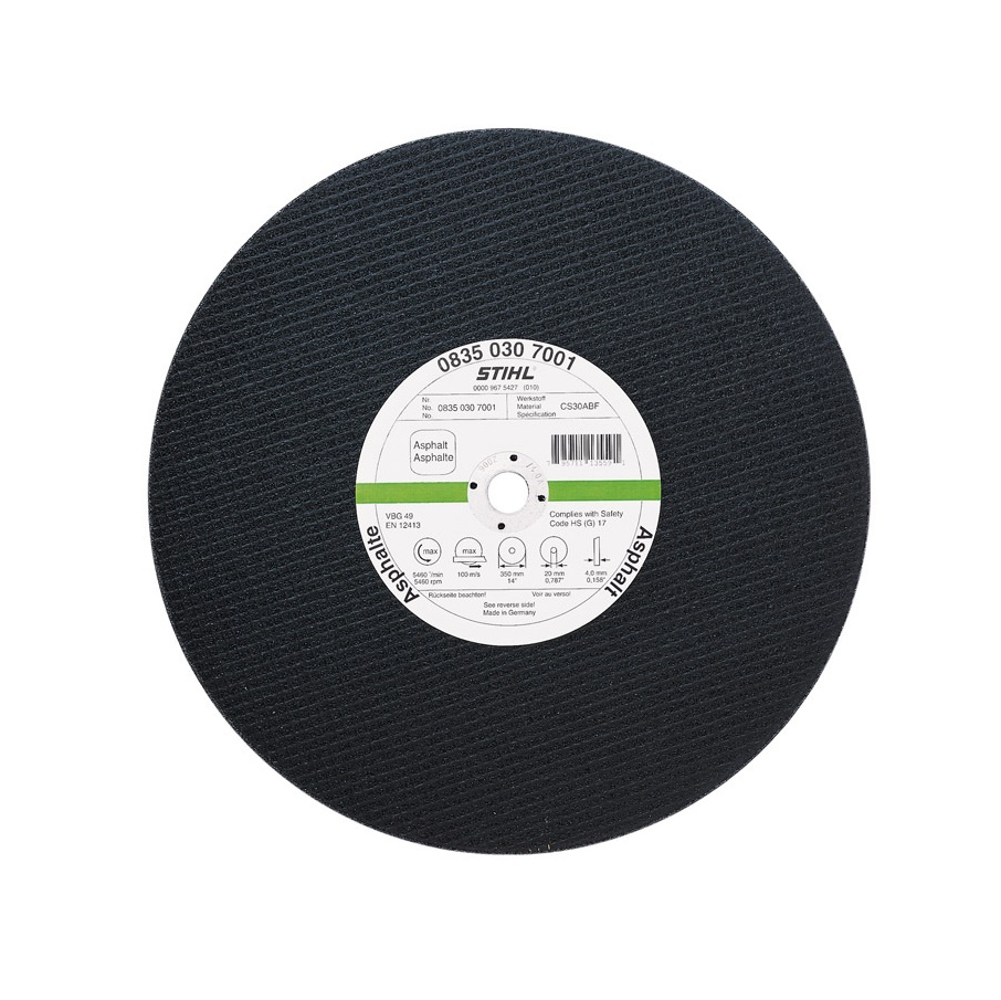 Абразивен диск за асфалт STIHL - 400мм
