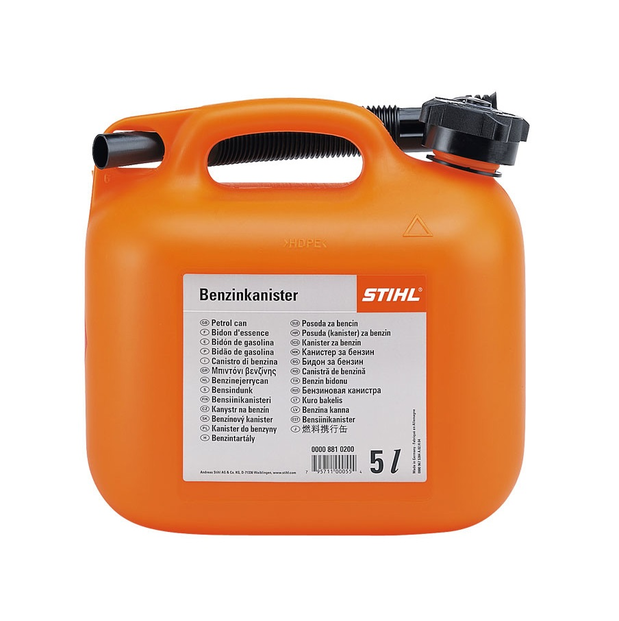 Оранжева туба за гориво STIHL 5л.