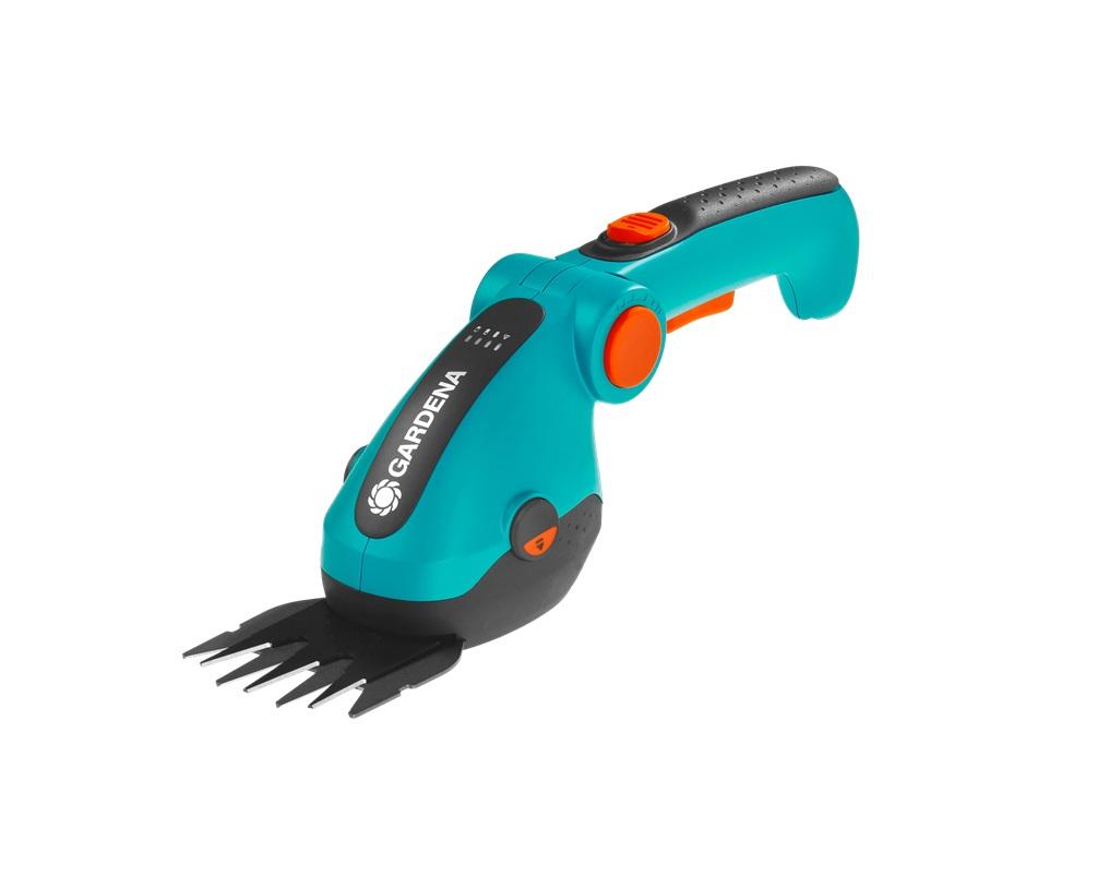 Комплект акумулаторна ножица за трева и храсти Gardena ComfortCut Li
