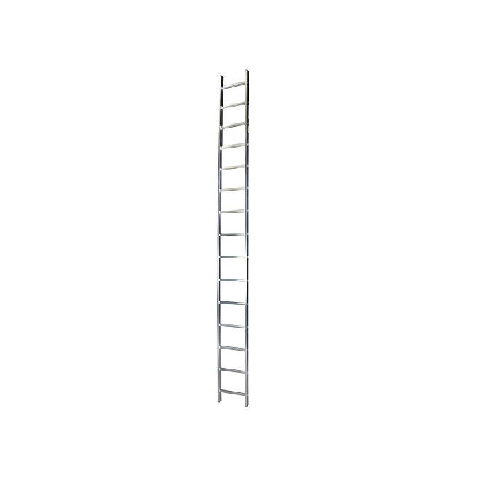 Права алуминиева стълба Bisonte STR115 - 4.13м