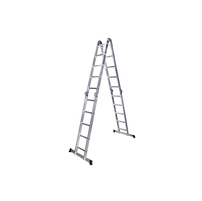 Мултифункционална алуминиева стълба Bisonte STR405 - 5.80м