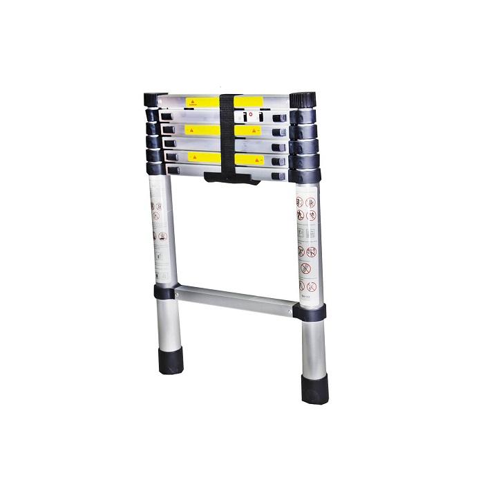 Телескопична алуминиева стълба Bisonte STR1020 - 2.0м