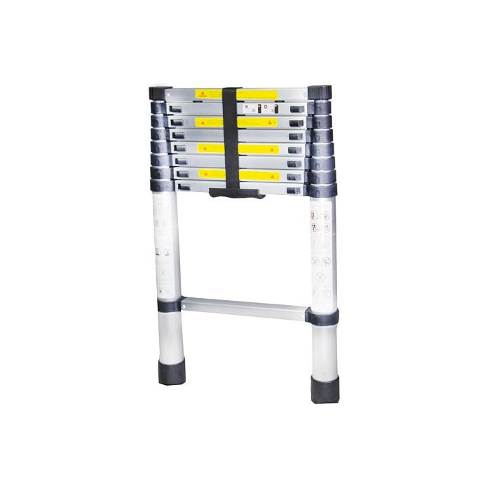 Телескопична алуминиева стълба Bisonte STR1026 - 2.6м