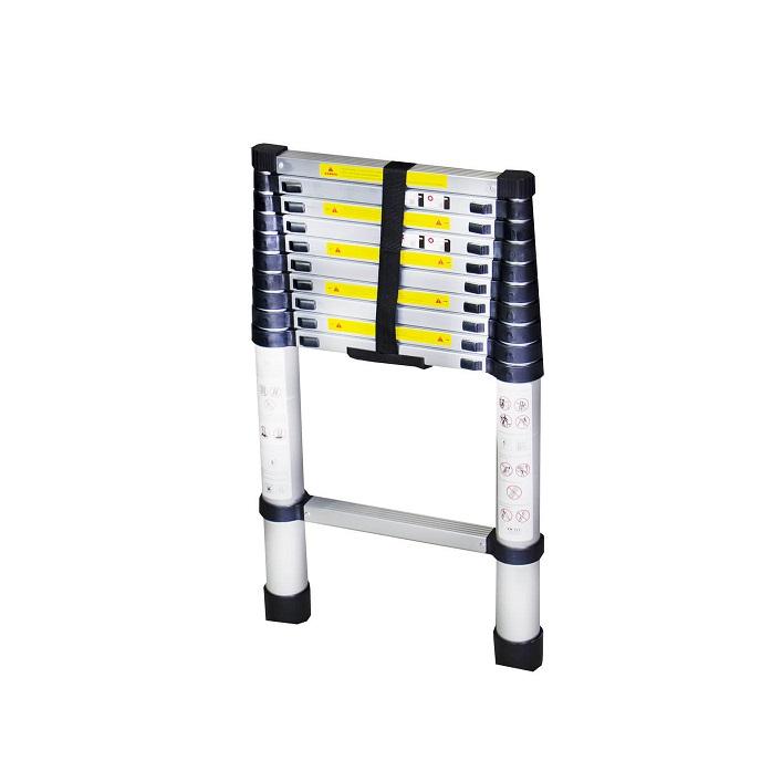 Телескопична алуминиева стълба Bisonte STR1032 - 3.2м