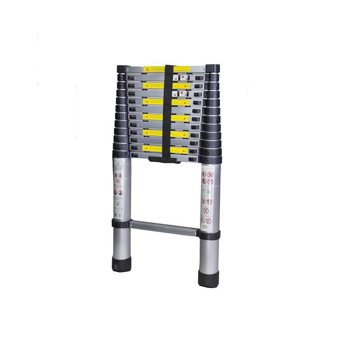Телескопична алуминиева стълба Bisonte STR1038 - 3.8м