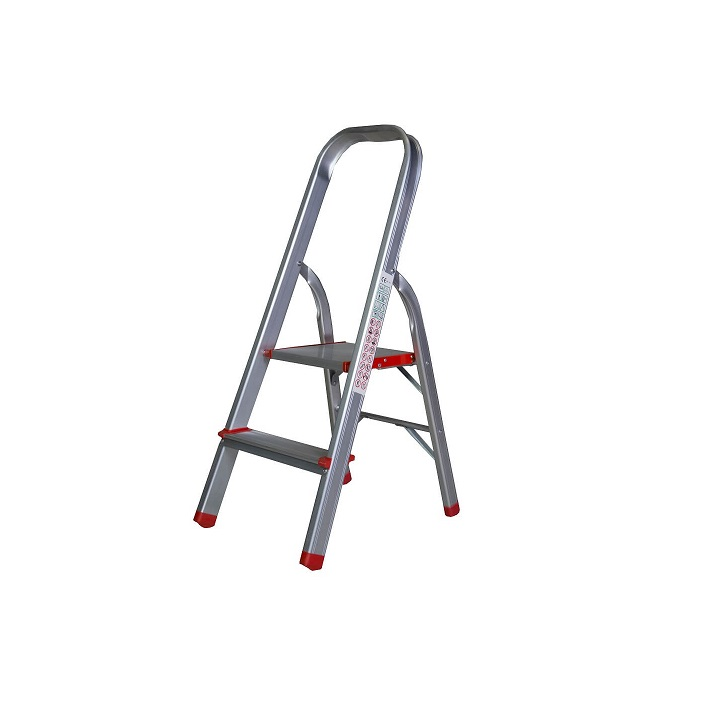 Алуминиева интериорна стълба Bisonte STR0102 - 92см