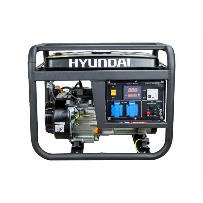 Бензинов генератор Hyundai HY 4100 L - 3,3 kW - PRO Series