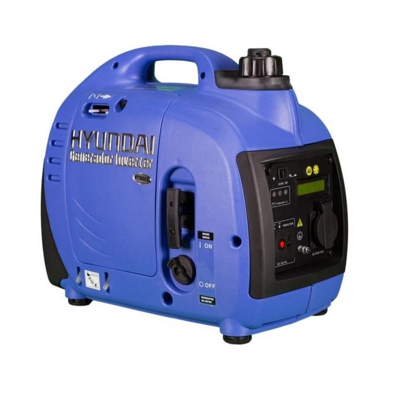 Инверторен, обезшумен генератор Hyundai HY 1000Si Pro - 1,0 кW