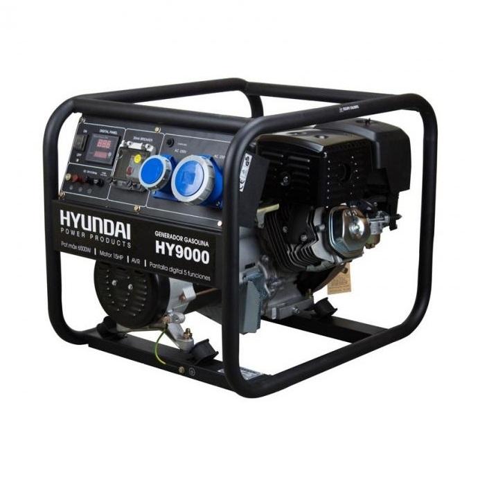 Бензинов генератор Hyundai HY 9000 - 6,5 kW
