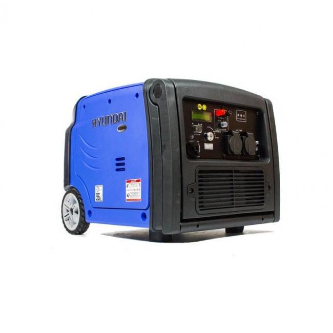 Инверторен, обезшумен генератор Hyundai HY 3200SЕi - 3,2 кW ел. стартер