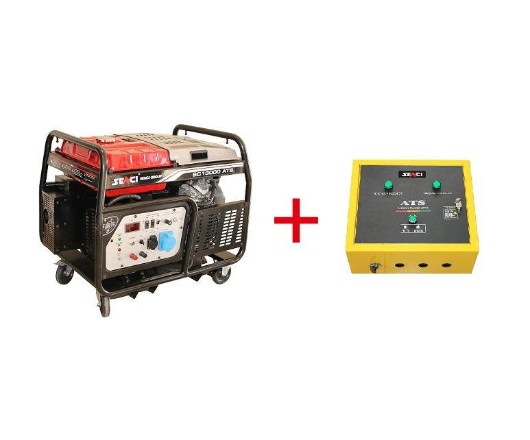 Бензинов генератор SENCI SC-15000TEQ-ATS