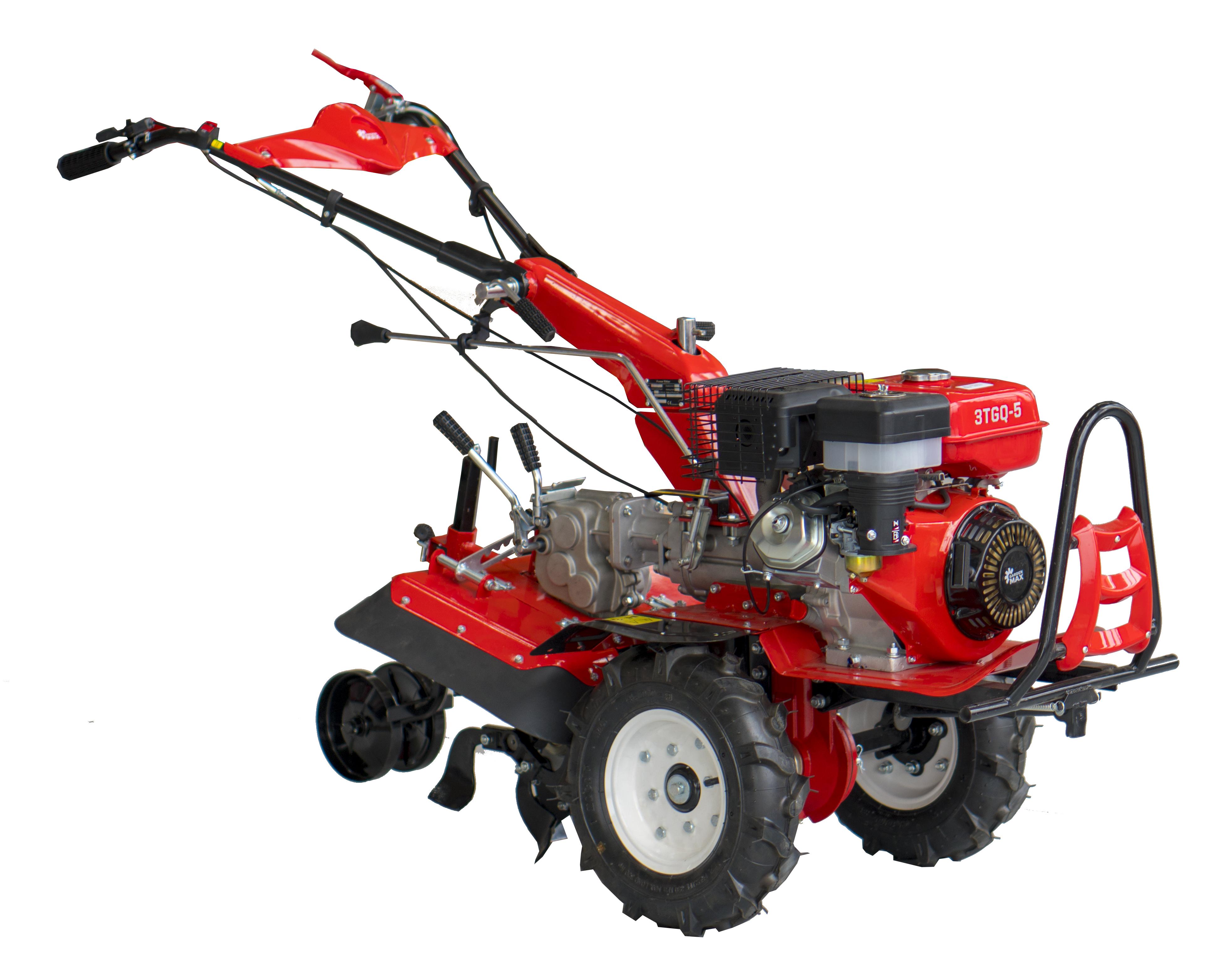 Мотоблок GardenMAX 3TGQ-5 + допълнителен инвентар
